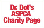 Dr Dot's ASPCA Charity Page